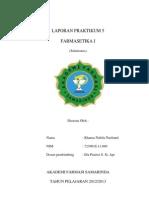 laporan farmaset 5