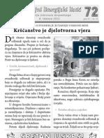 Župni listić - PUJANKE - 72 - Uskrs 2012.