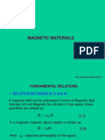 Magnetic Materials 1