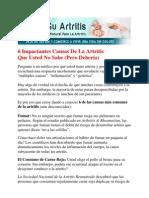 cure artritis - curar artritis - como curar el artritis