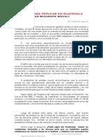 La Vivienda Popular en Guatemala Gabriela Aquino