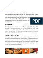Business Pizza Hut Term Paper
