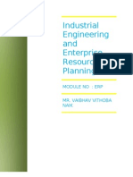 ENTERPRISE RESOURCES PLANNING ERP