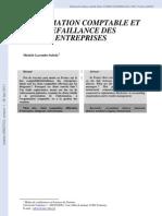 Evaluation Du Risque de Faillite