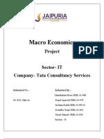 Economics Poject,Tcs Analysis2,