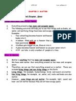 Chapter 3 Matter Doc