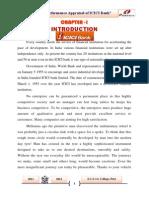 ICICI Prove Project Report