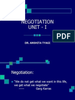 Chap 3 Integrative Negotiation