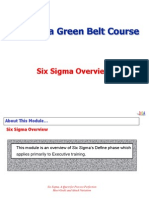01Six Sigma Overview