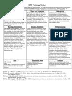 COPD Pathology Window
