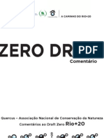 Comentários da Quercus ao Draft Zero da Rio+20