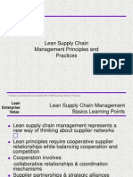 Lean Supply Chain Management Principles and Practices