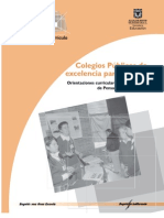Colegios públicos de excelencia en Bogotá