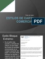 Estilos de Carta Comercial