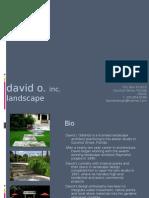 David O. Inc. Design Presentation