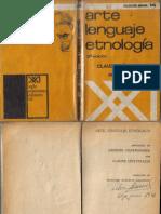 Arte, Lenguaje, Etnología
