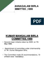 Kumar Managalam Birla Committee ,1999