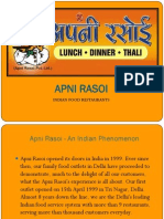 Franchise Presentation - Apni Rasoi Copy