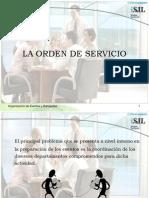 17 La Orden de Servicio