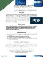 Bases Campeonato ABAV - DeCUR+Reglamento