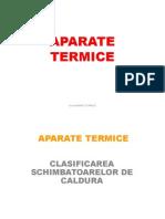 Aparate termice