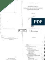 49845065 Foucault Mas Alla Del Estructuralismo y La Hermeneutica(Autosaved)