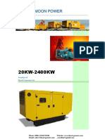 Diesel Generator Catalogue