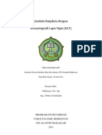 Analisis Simplisia Dengan Kromatografi