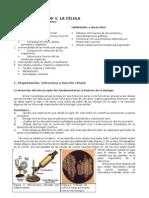 1º - Guía de estudio Célula