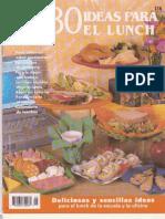 80 ideas para el Lunch. - Colección estrella