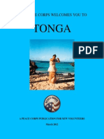 Peace Corps Tonga Welcome Book  |  March 2012