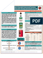 Poster on the Survey on the Labels of Medicine