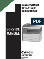 Canon IR 1019J -1023 -1023N -1023iF Service Manual Ing