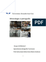Mineralogie Si Petrografie