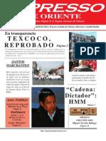Expresso de Oriente 9 de Abril Del 2012
