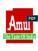 Amul Summer Training Report