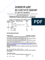 Programme Louth County 2012 for SHOW