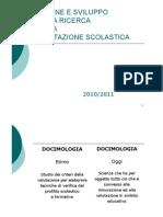 217 Docimologia Origine e Sviluppo