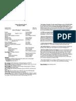 Bulletin 2008-12-14