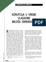Vladan Jovanović - Korupcija u vreme vladavine Miloša Obrenovića