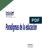 Trabajo de paradigmas de la educación