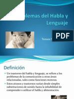 Problemas Del Habla y Lenguaje