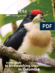 Travel Guide Colombian Birds