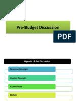Pre Budget Finally
