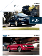 2009 Ford Taurus Brochure from Miller Ford