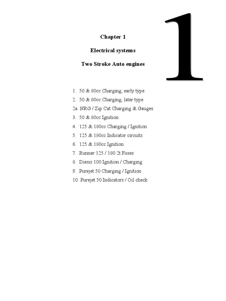 Piaggio Teknisk Manual Ignition System Rectifier Vespa Gt200 Fuse Box Location