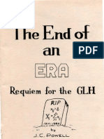 Powell (1980) the End of an Era Requiem for the Glm