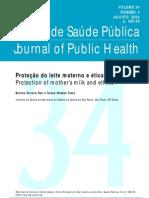 Revista Saude Publica