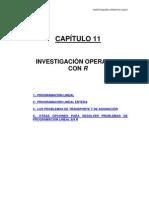 Tema 11 Investigacion Operativa Con r
