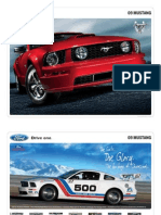 2009 Ford Mustang Brochure from Miller Ford